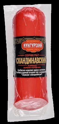 ВСТ Сервелат Скандинавский в/к в/у срез 300г  Кунгурский МК