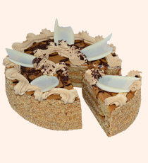 Ириска бисквитный торт 750г   Буше