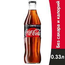 Кока-кола Зеро 0.33л ст/б