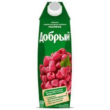 Нектар Добрый яблоко/ч. ряб/малина 1л *