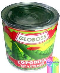 Горошек зеленый  425мл ж/б Глобосс *