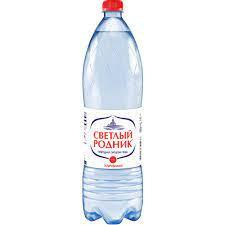 Вода питьевая газ. Светлый Родник  0.5л п/б Очёр *
