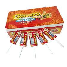 Жевательная конфета Жевамба  в ассорт.10г