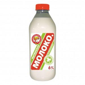 Молоко 6% бзмж 0.9л пэт/бут Нытва
