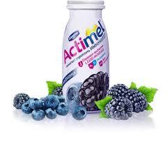 К/молочный продукт Actimel  Черника/ежевика 2.5% 100г. БЗМЖ