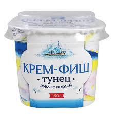 Крем-фиш Тунец  150гр пл./б Россия *