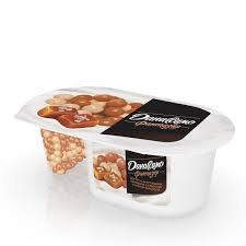 Йогурт Даниссимо Фантазия с хруст. шариками солен.карамель 6.9% 105г БЗМЖ