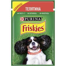 Friskies /для собак с телятиной 85г Россия *