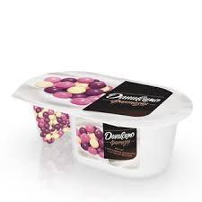 Йогурт Даниссимо Фантазия с хруст. шариками с ягодным вкусом 6.9% 105г БЗМЖ