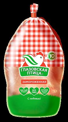Тушка цыпленка-бройлера зам.1с пакет 1кг УПТФ