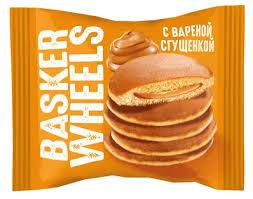 Пирожное  бисквитное Pancake с вареной сгущенкой 36г. КДВ