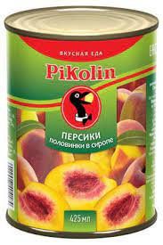 Абрикосы-половинки в сиропе 850мл ж/б Rikolinк Вусная еда*