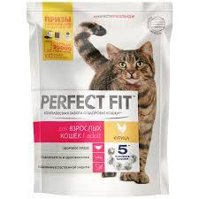 Perfect fit для взрослых кошек курица 190г Германия*