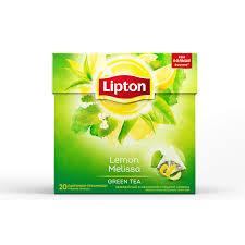 Чай Lipton зеленый лимон-мелисса 20пак*1.6г.