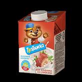 Коктейль молочный Топтыжка клубника со сливками 3.2% бзмж 500г Сарапул
