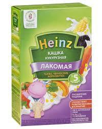 Каша Овсяная молочная лакомая тыква/чернослив/морковь 170гр м/у Heinz *