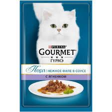 Gourmet Перл нежное филе в соусе с ягненком 85г м/у
