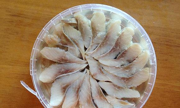 Сельдь филе-кус. в масле 180г Чернушка