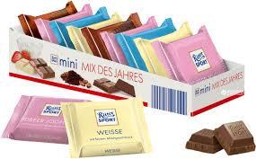 Шоколад РИТТЕР Марципан темный с начинкой 100г