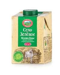 Молоко козье 2.8-5.6% бзмж 0.487л тетрапак Село Зеленое