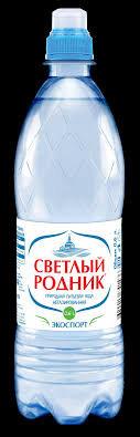 Вода питьевая н/ газ. Светлый Родник  0.6л п/б  Очёр*