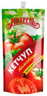 Кетчуп Махеев Томатный 500гр д/пак