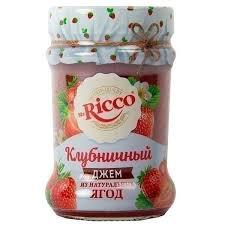 Джем Клубничный 310г ст/б Mr. Ricco *