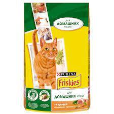 FRISKIES Корм д/дом. кошек курица/овощи 1.5кг *