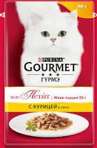 Gourmet мон Петит курица в соусе 50г м/у