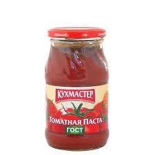 Томатная паста Кухмастер 190гр ст/б