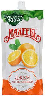 Джем апельсиновый 300г д/п с доз.Махеев*