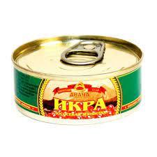 Икра лососевая (горбуша) АВАЧА ж.б. ключ 95г Россия