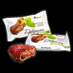 Конфеты Десерт Добрянка мини (фундук) 1кг Акконд
