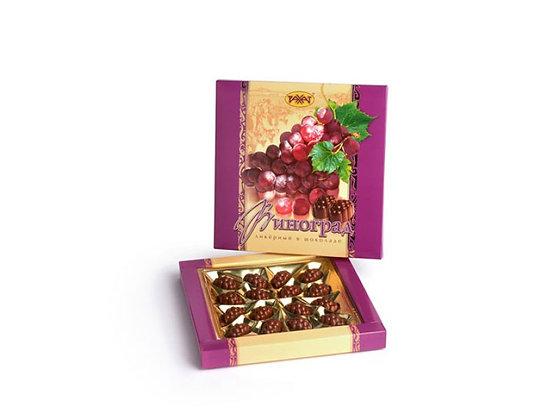Набор конфет Виноград ликерный в шоколаде 160г. Рахат