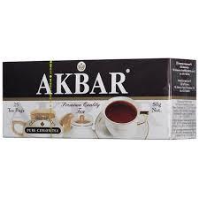 Чай AKBAR черн. байх. мелкий Классическая серия 25*2г