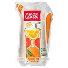 0.175л Напиток Моя Семья сокосод./ананас.манго.маракуйя/