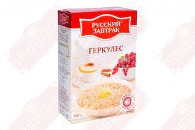 Геркулес 400г коробка Русский завтрак
