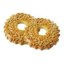 Пирожное песоч. кольцо с арахисом 80гр Ижевск