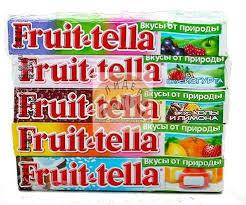 Fruit-tella жевательные конфеты  в ассорт. 41г