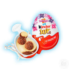 Шок. яйцо Kinder Джой 20гр