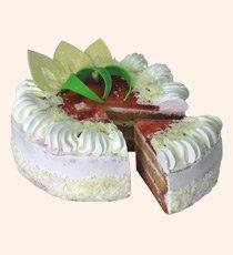 Клубника со сметаной  торт бискв. 750г Буше