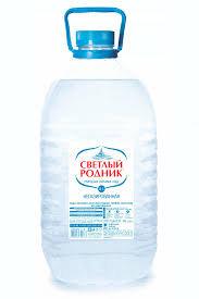 Вода питьевая Светлый родник 5л  Пермский край*