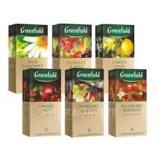 Чай Гринфилд Quince ginger herbal tea 25*2г *