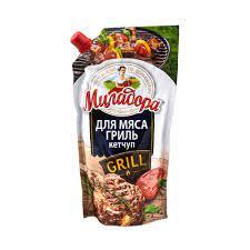 Кетчуп для мяса гриль Миладора 350г д/п