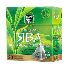 Чай ПР. Ява Китайский зеленый пирамид. 20п*1.8г с/я *