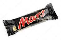 Шок. батончик Mars молоч.50гр