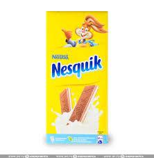 Шоколад Несквик мол. 100г.