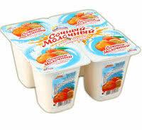 Йогуртный продукт Сочный легкий Персик 0.1%  бзмж 95г  Альпенгурт