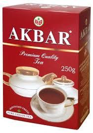 Чай AKBAR Цейлонский кр/л крас/п. 250г *