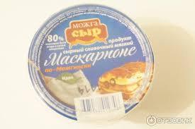 Продукт сырный Маскорпоне по-можгински СЗМЖ 200г Можга